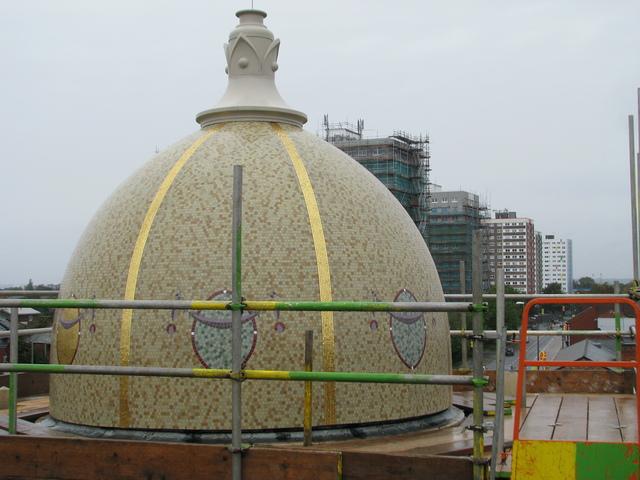 New Mosaic Domes
