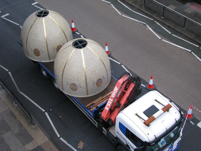 Delivery of Mosaic Domes