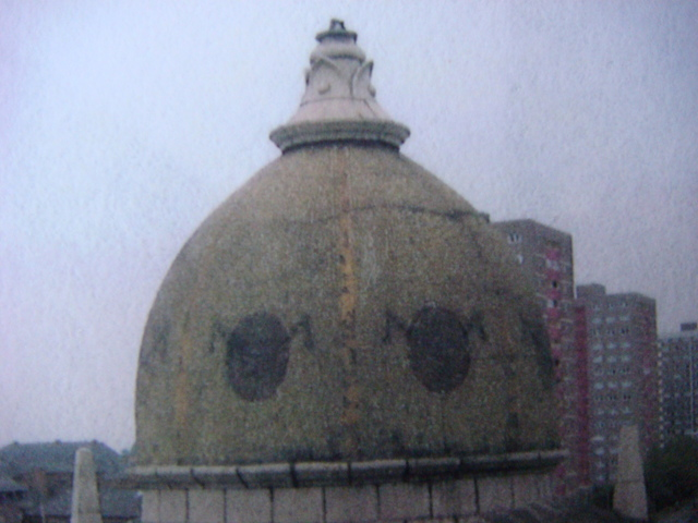 Original Mosaic Domes made in 1914