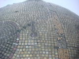 Original Mosaic Domes made in 1914 this photo taken 2000
