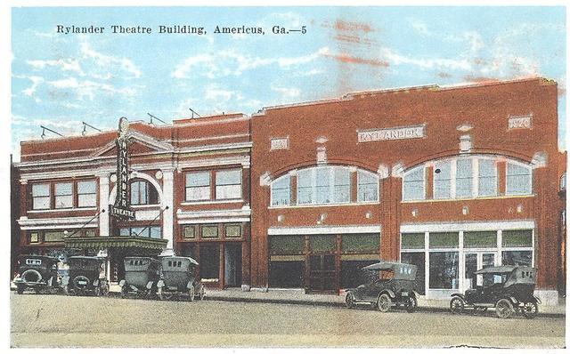 Rylander Theatre, Americus Georgia