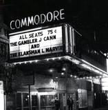COMMODORE Theatre, Chicago, Illinois in February, 1975