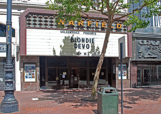 Warfield Theatre