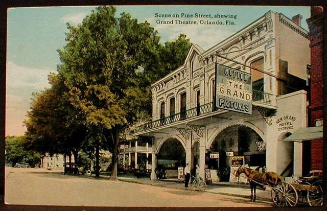 Grand Theatre, Postcard ca 1925