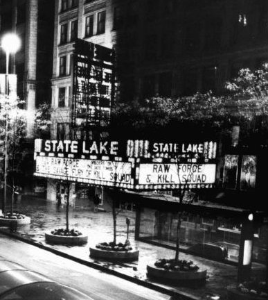 STATE-LAKE Theatre, Chicago, Illinois in October, 1982