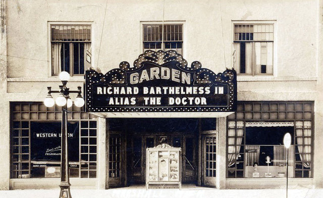 GARDEN Theatre, Marshall, Michigan (1932)
