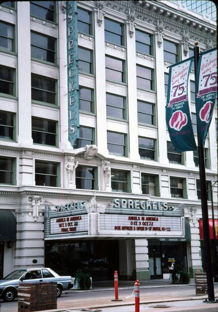 Spreckels Theatre (Late 1990's)