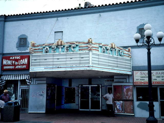 Aztec Theatre (Late 1990's)