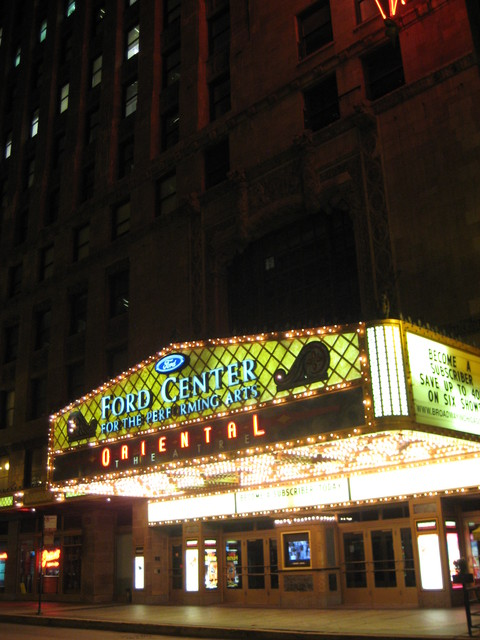 Ford Center for the Performing Arts Oriental Theatre