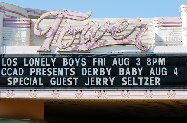Tower Theatre Sign