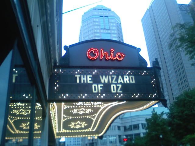 Ohio marquee