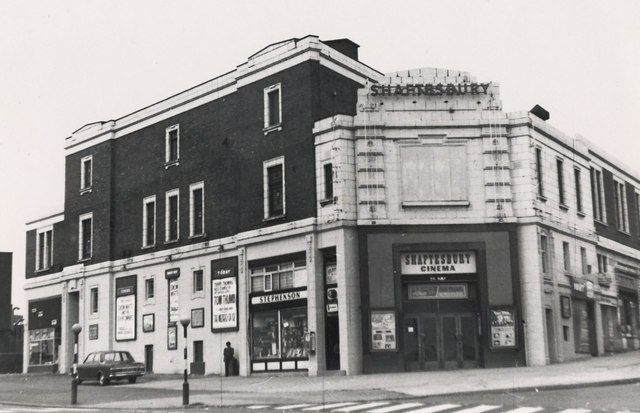 Shaftesbury Cinema 1973