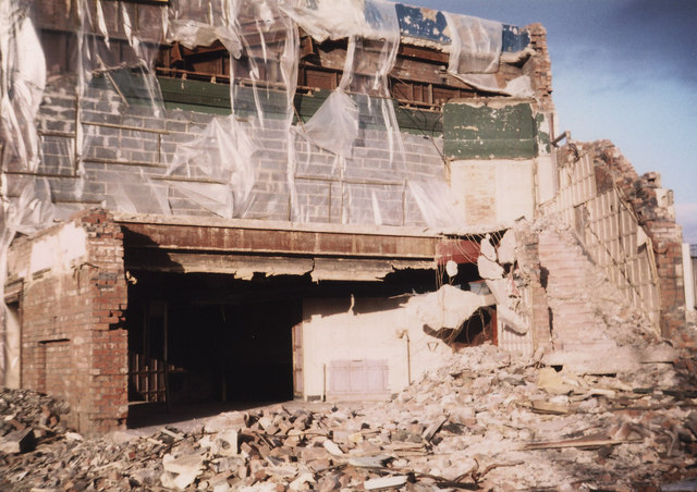 Shaftesbury Demolition 1980