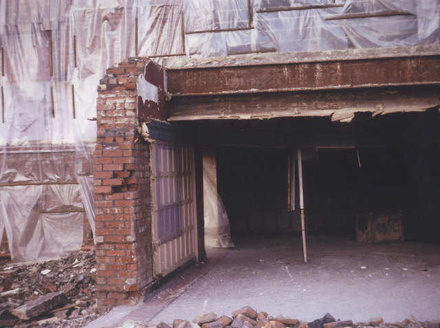 Shaftesbury Demolition 1980