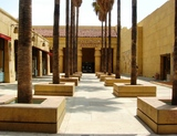 The Egyptian Courtyard