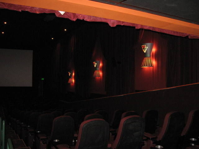 Interior of theatre 3 with new stadium seating and lighting--2012