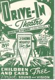 Drive-In Playbill Frontside