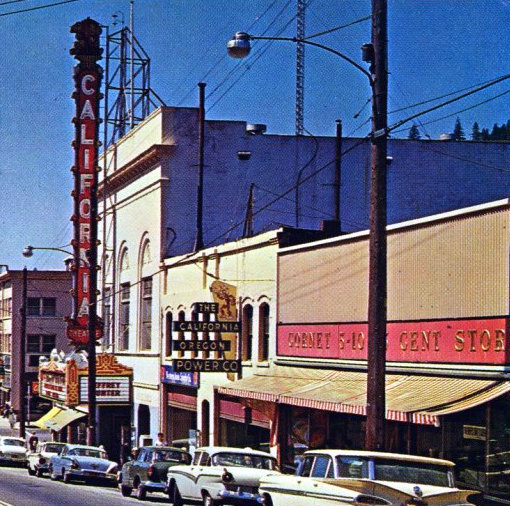 CALIFORNIA Theatre, Dunsmuir, California