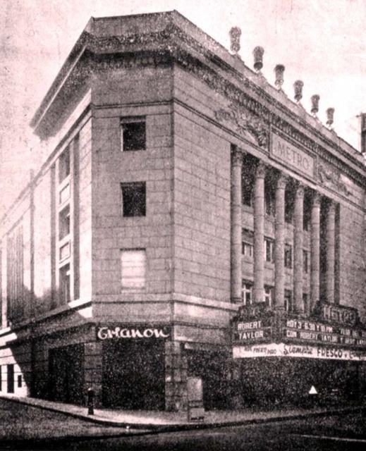 Cine Metro de Santiago, 1939