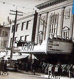 LEVOY Theatre, Millville, New Jersey, late 1940s