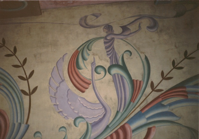 Auditorium Wall Detail