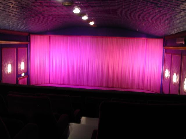 Interior, Auditorium, July 2012