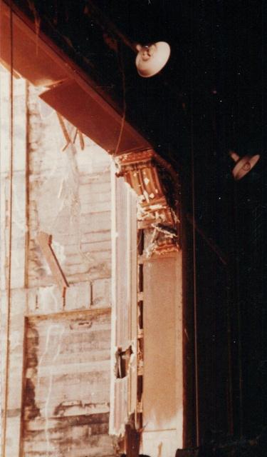 Proscenium Corbel