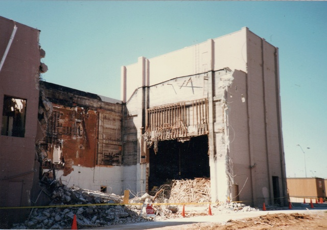 Auditorium Demolition