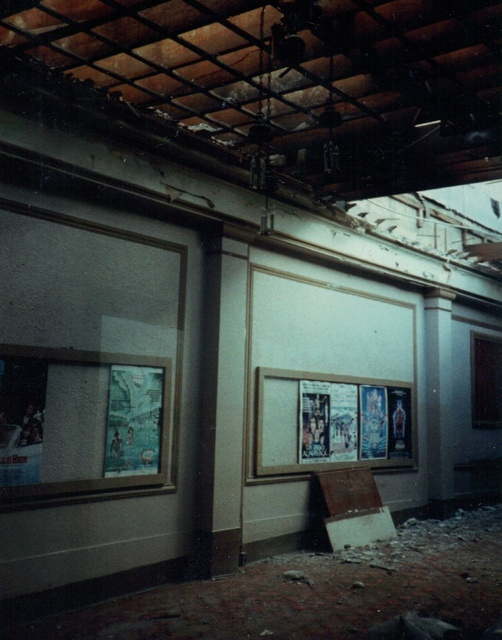 Fox Theatre Lobby After Earthquake