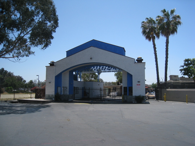 Drive-In Entrance (Front)