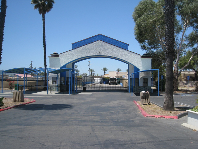 Drive-In entrance (2nd Entrance)