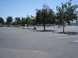Outer parking lot of the Drive-In
