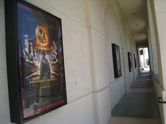 Posters in the corridor