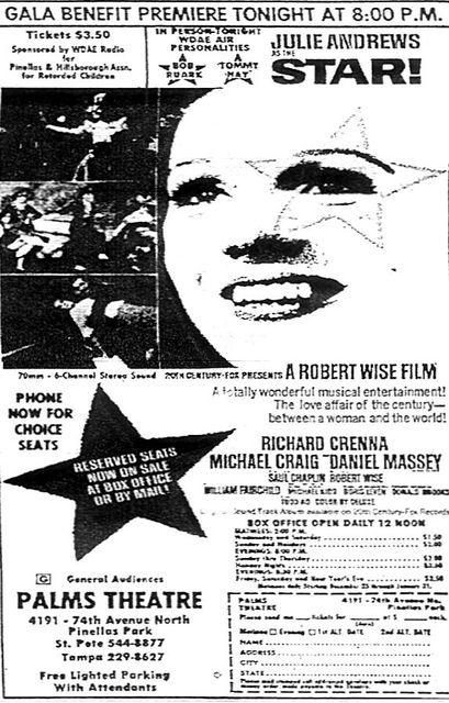 "Opening of ""Star"" at the Palms Theatre"