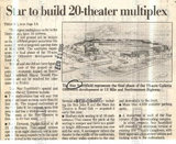 Article, STAR SOUTHFIELD 20 Theatre, Southfield, Michigan