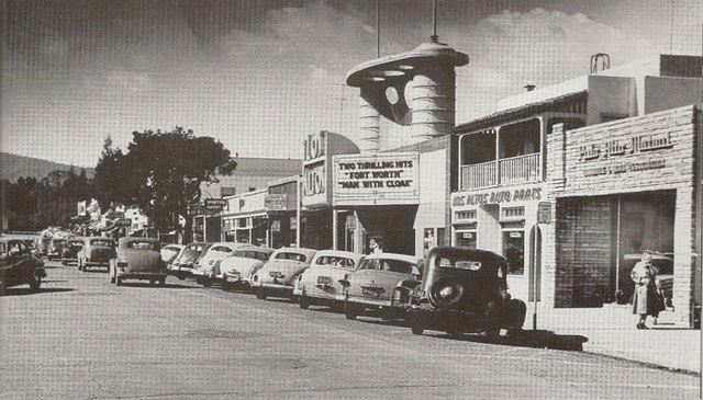 Downtown Los Altos in 1951