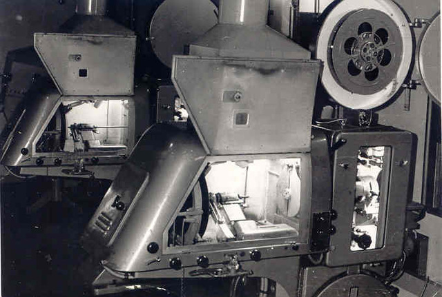 ABC Cine-Bowl Hanley S.O.T. 1966 Projection Room