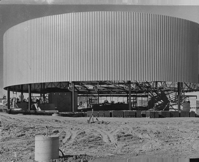COOPER Theatre, Denver, Colorado under construction, 1960