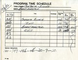 """time sheets"" used in the box office"