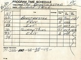 'time sheets&quot; used in the box office