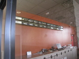 Inside of the box office