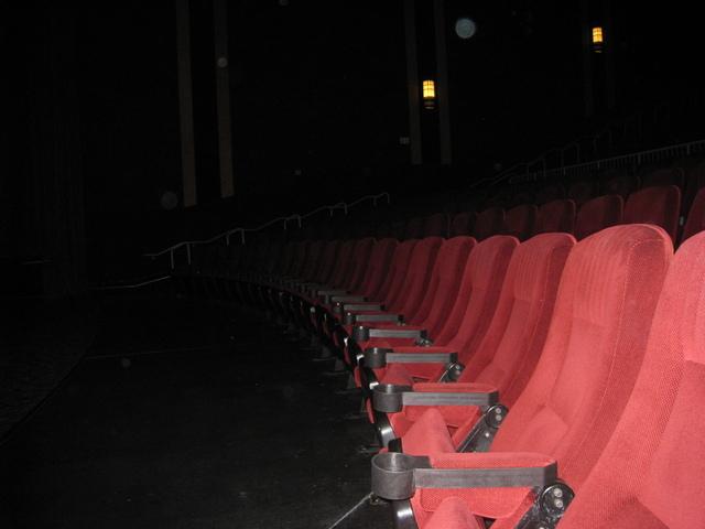 Seats in auditorium 1