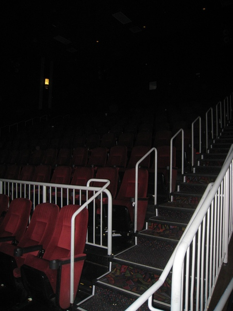 stadium seating in auditorium 1