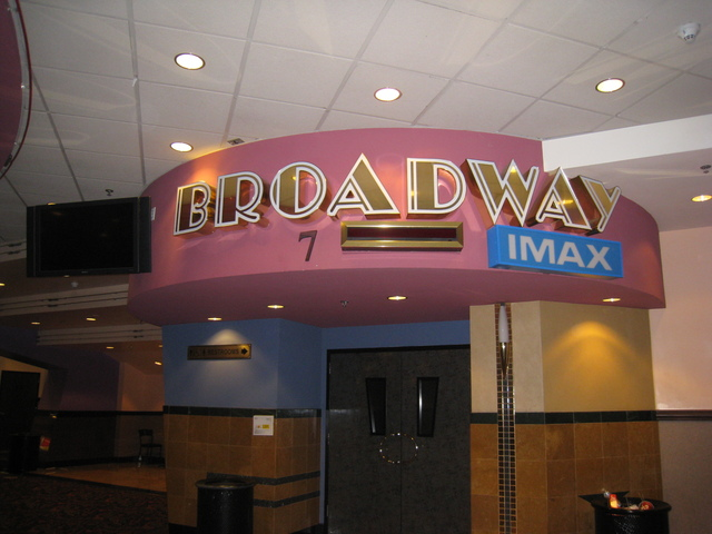 "Auditorium 7 ""Broadway"" IMAX Screen"