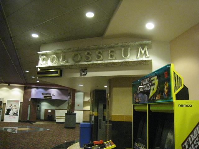 """Auditorium 15 """"Colosseum"""""""