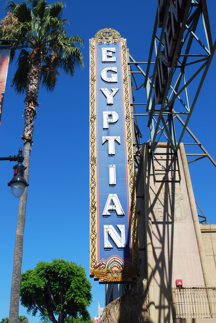 Egyptian Theatre Sign