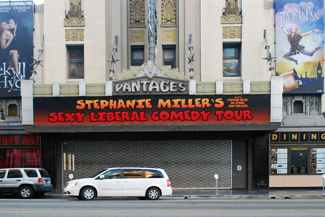 Pantages Theatre Marquee
