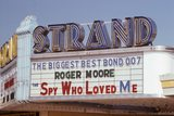 Strand Theater Marquee