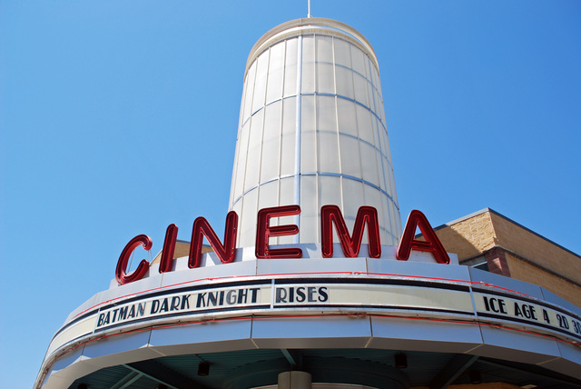 Mainplace Stadium Cinema Marquee