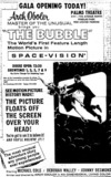 "Only Florida showing of ""The Bubble"""
